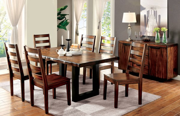 Furniture of America Maddison Dining Table FOA-CM3606T
