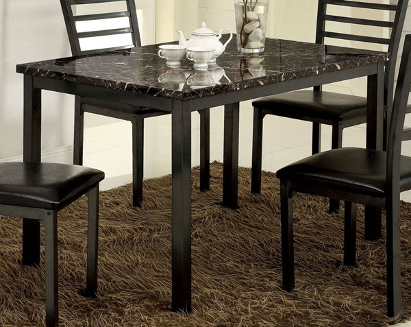 Furniture of America Colman 48 Inch Dining Table FOA-CM3615T-48