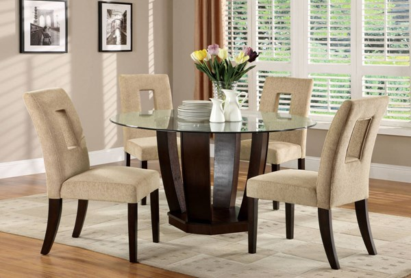 Furniture of America West Palm I Dining Room Set FOA-CM3625-DR