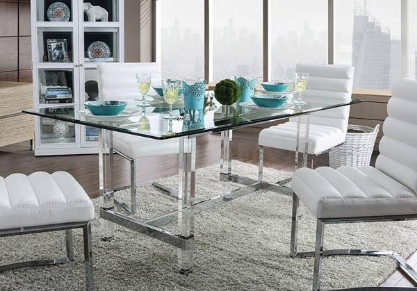 Furniture of America Sunniva Dining Table FOA-CM3654T-TABLE