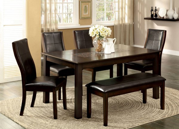 Furniture of America Townsend I Dining Table FOA-CM3669T
