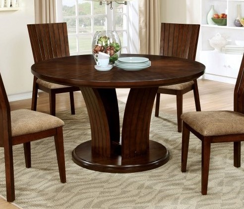 Furniture of America Montreal I Round Dining Table FOA-CM3711RT-TABLE