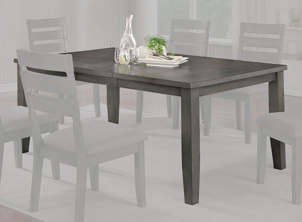 Furniture of America Viana Light Gray 72 Inch Dining Table FOA-CM3716T-72