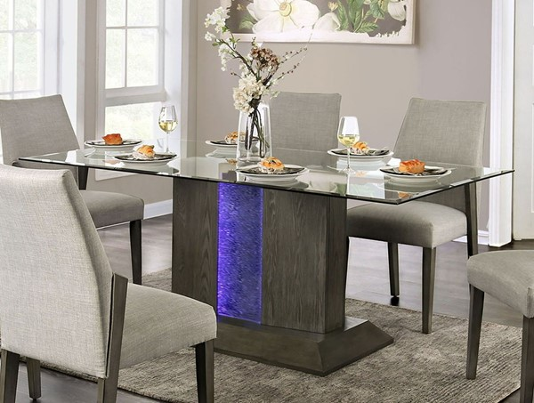 Furniture Of America Turton Gray Dining Table FOA-CM3718T-TABLE