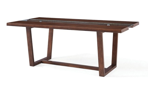 Furniture Of America Brighid Dark Oak Dining Table FOA-CM3722T-TABLE