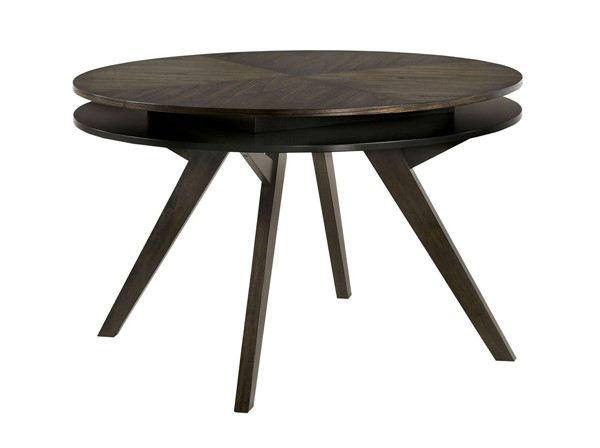 Furniture Of America Cherie Gray Round Table FOA-CM3724RT