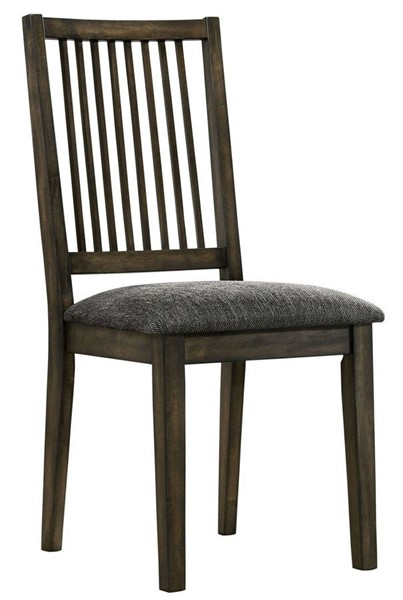 2 Furniture Of America Cherie Gray Side Chairs FOA-CM3724SC-2PK