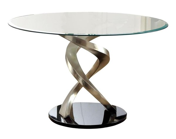 Furniture of America Roxo Round Dining Table FOA-CM3729T-TABLE