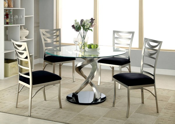 Furniture of America Roxo Dining Room Set FOA-CM3729-DR