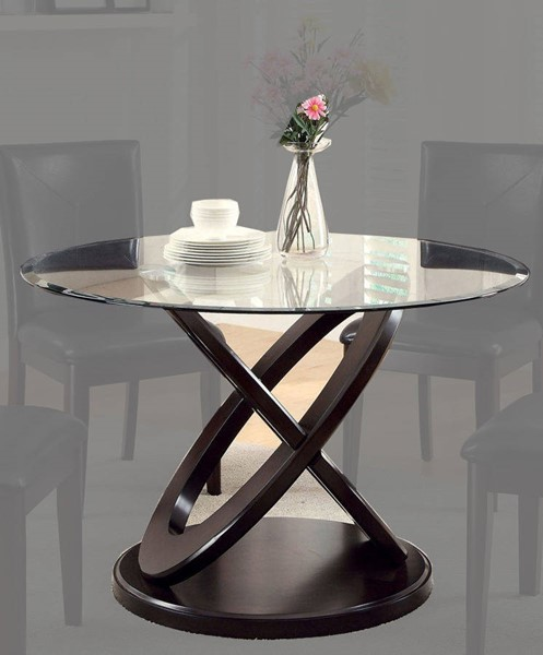 Furniture of America Atenna I Round Dining Table FOA-CM3774T-TABLE