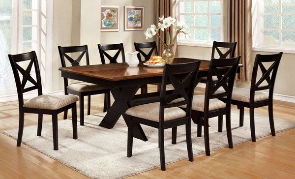 Furniture of America Liberta Dining Room Set FOA-CM3776-DR