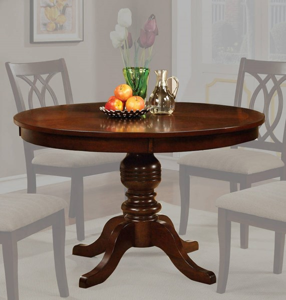 Furniture of America Carlisle Round Dining Table FOA-CM3778RT-TABLE