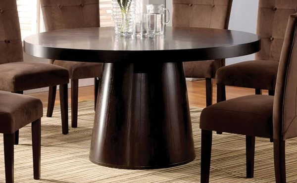 Furniture of America Havana Round Dining Table FOA-CM3849T-TABLE