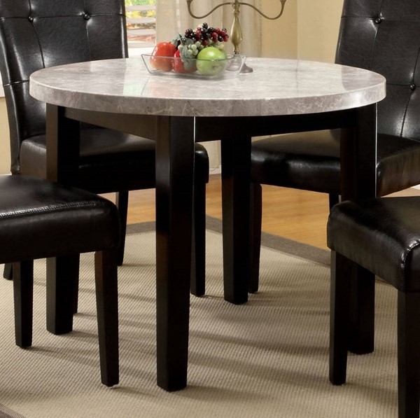 Furniture of America Marion I Round Dining Table FOA-CM3866RT-40
