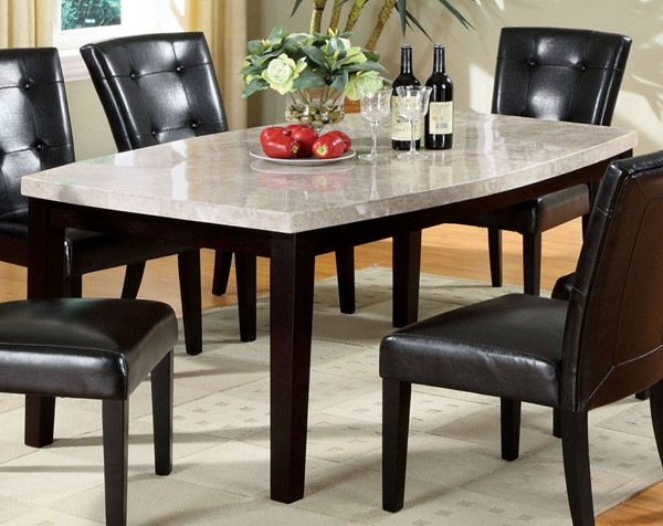 Furniture of America Marion I Oval Dining Table FOA-CM3866T