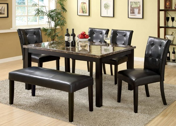 Furniture of America Boulder I Dining Table FOA-CM3870T