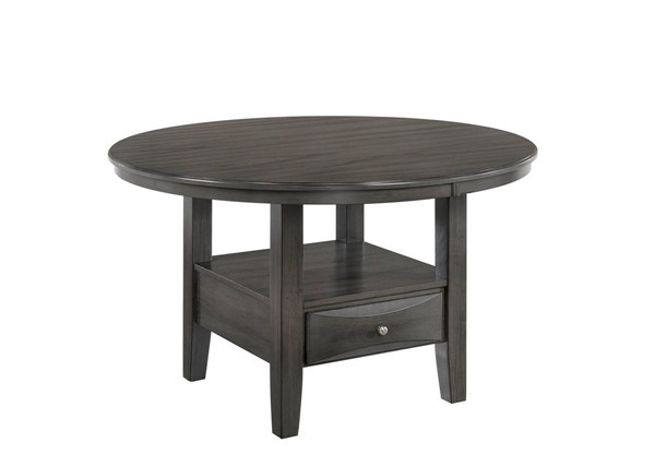 Furniture of America Caprice Antique Gray Dining Table FOA-CM3879RT-TABLE