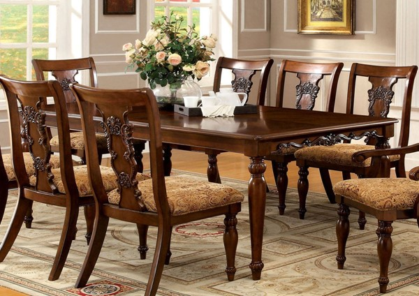Furniture of America Seymour Formal Dining Table FOA-CM3880T