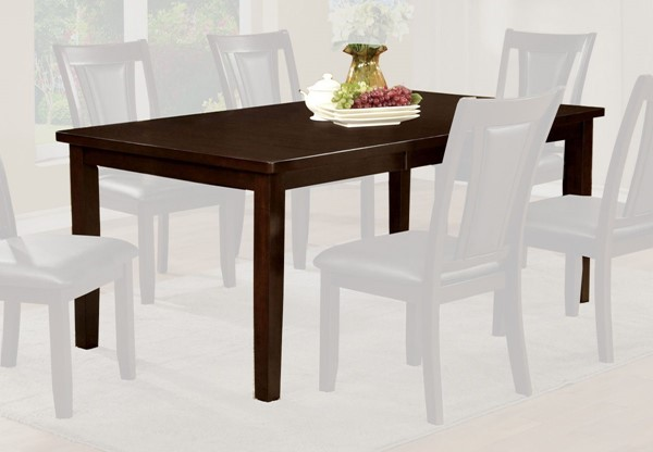 Furniture of America Emmons I 18 Inch Leaf Dining Table FOA-CM3910T
