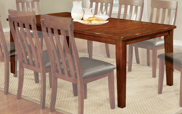 Furniture of America Foxville 18 Inch Leaf Dining Table FOA-CM3914T