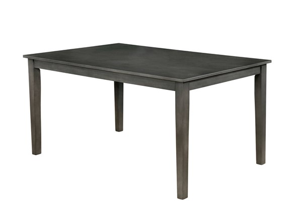 Furniture of America Hillsview Gray Dining Table FOA-CM3916GY-T-60