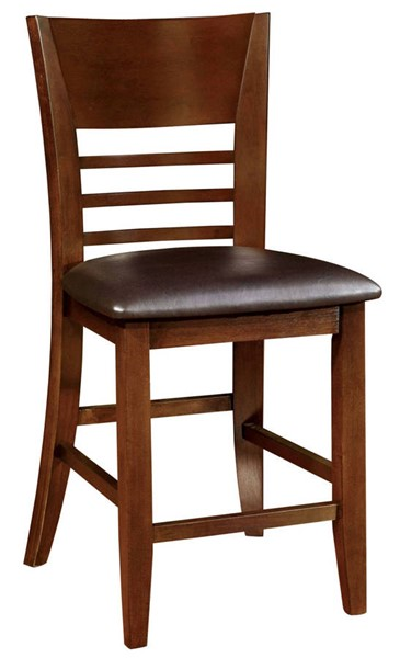 2 Furniture of America Hillsview I Counter Height Chairs FOA-CM3916PC-2PK