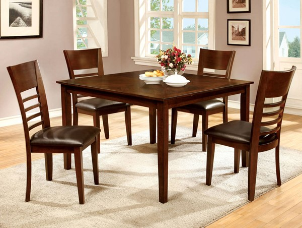Furniture of America Hillsview I 5pc Dining Room Set FOA-CM3916T-5PK