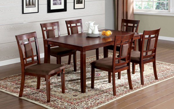 Furniture of America Montclair I 7pc Dining Room Set FOA-CM3930T-7PK