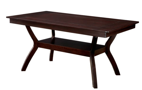 Furniture of America Brent Dining Table FOA-CM3984W-T
