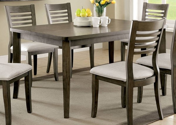 Furniture of America Dwight III Dining Table FOA-CM3988GY-T