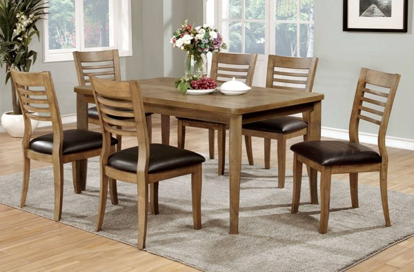 Furniture of America Dwight II Dining Room Set FOA-CM3988NT-DR