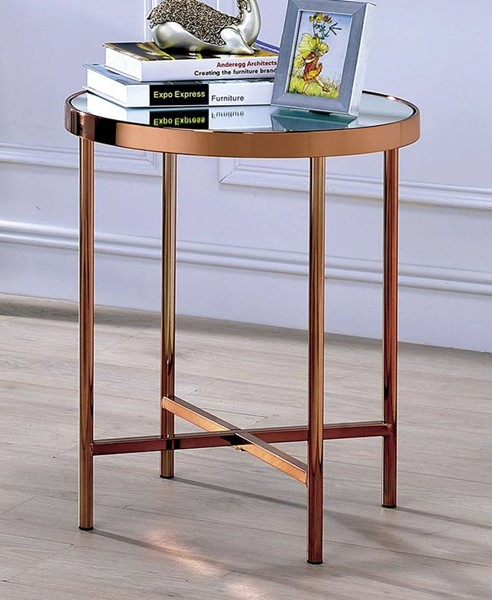 Furniture of America Nugent End Table FOA-CM4013E