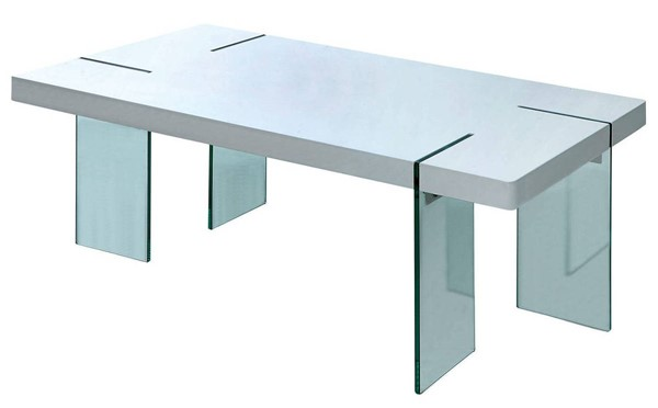 Furniture of America Thorold White Coffee Table FOA-CM4055C-TABLE