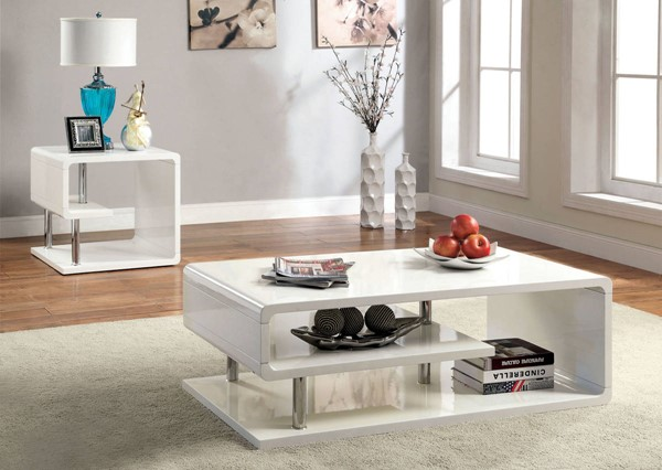 Furniture of America Ninove I Coffee Table FOA-CM4057C
