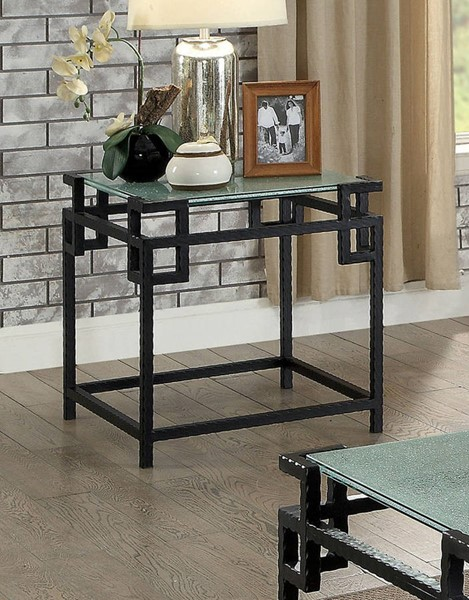 Furniture of America Selene End Table FOA-CM4100E-PK