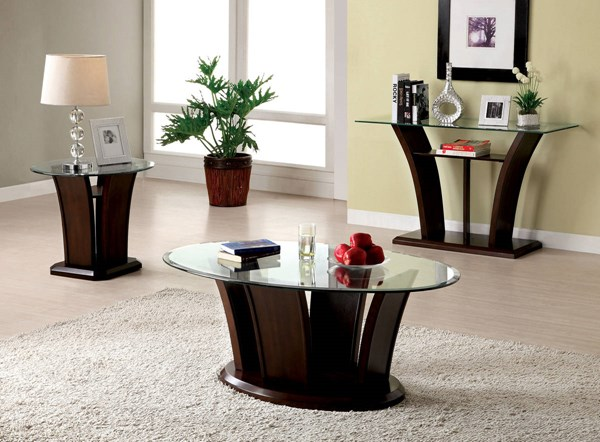 Furniture of America Manhattan IV End Tables FOA-CM4104-ET-VAR