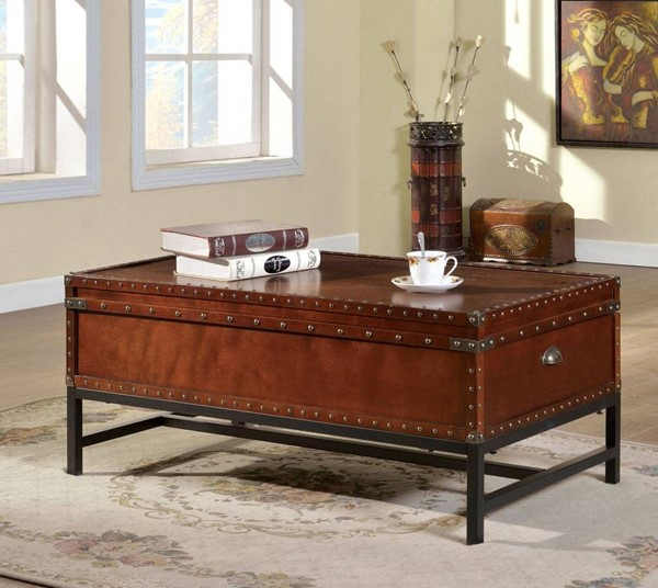 Furniture of America Milbank Coffee Table FOA-CM4110C