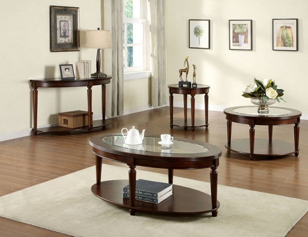 Furniture of America Granvia Coffee Table FOA-CM4131OC