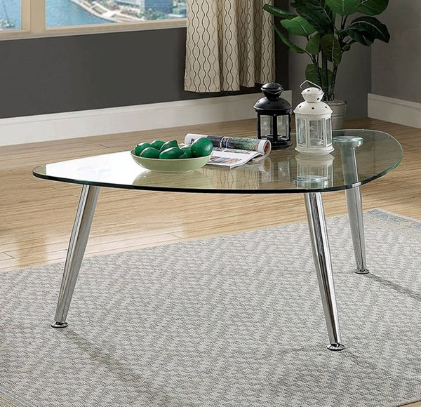 Furniture of America Delany Coffee Table FOA-CM4156C-PK