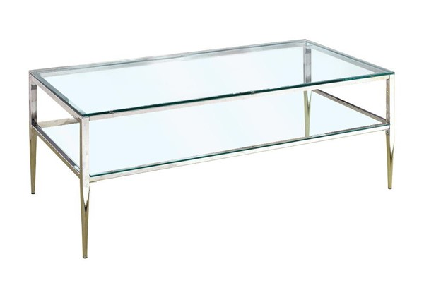 Furniture of America Tanika Coffee Table FOA-CM4162CRM-C-PK