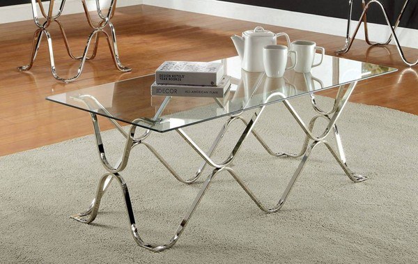 Furniture of America Vador Coffee Table FOA-CM4229C-PK