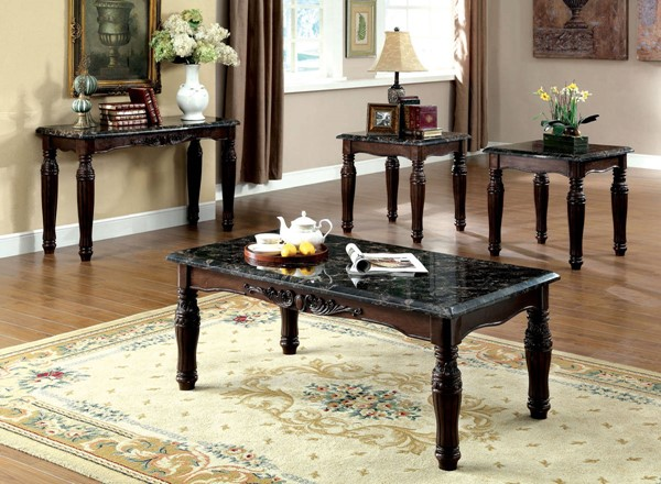 Furniture of America Brampton 3pc Coffee Table Set FOA-CM4292EX-3PK