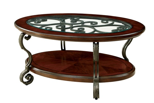 Furniture of America May Coffee Table FOA-CM4326C