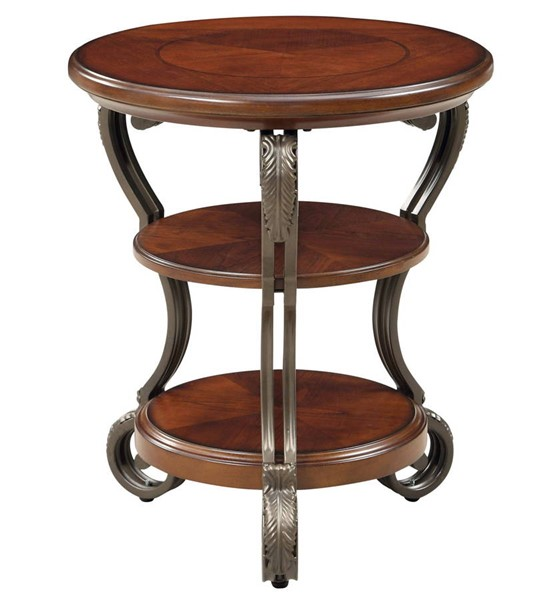 Furniture of America May Side Table FOA-CM4326T