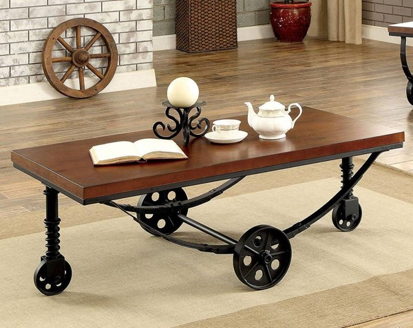 Furniture of America Reese Coffee Table FOA-CM4331C