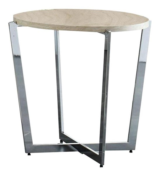 Furniture of America Madisyn White End Table FOA-CM4356E