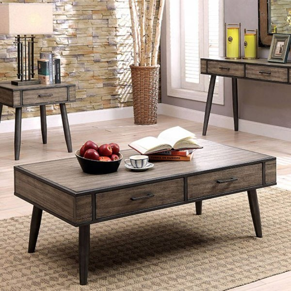 Furniture of America Vilhelm II Coffee Table FOA-CM4360C