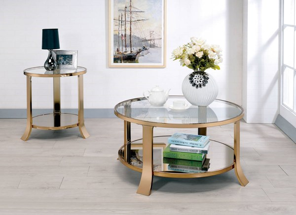 Furniture of America Rikki Coffee Table FOA-CM4371C