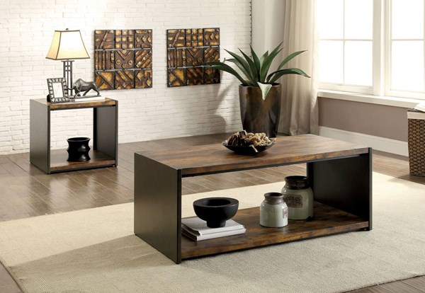 Furniture of America Reina Coffee Table FOA-CM4398C