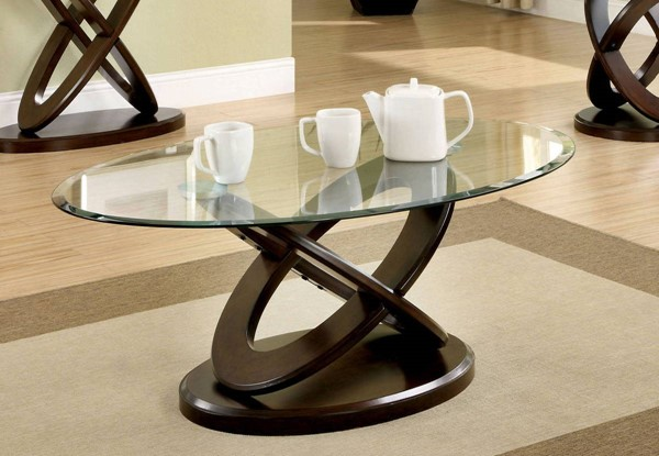 Furniture of America Atwood II Coffee Table FOA-CM4401C